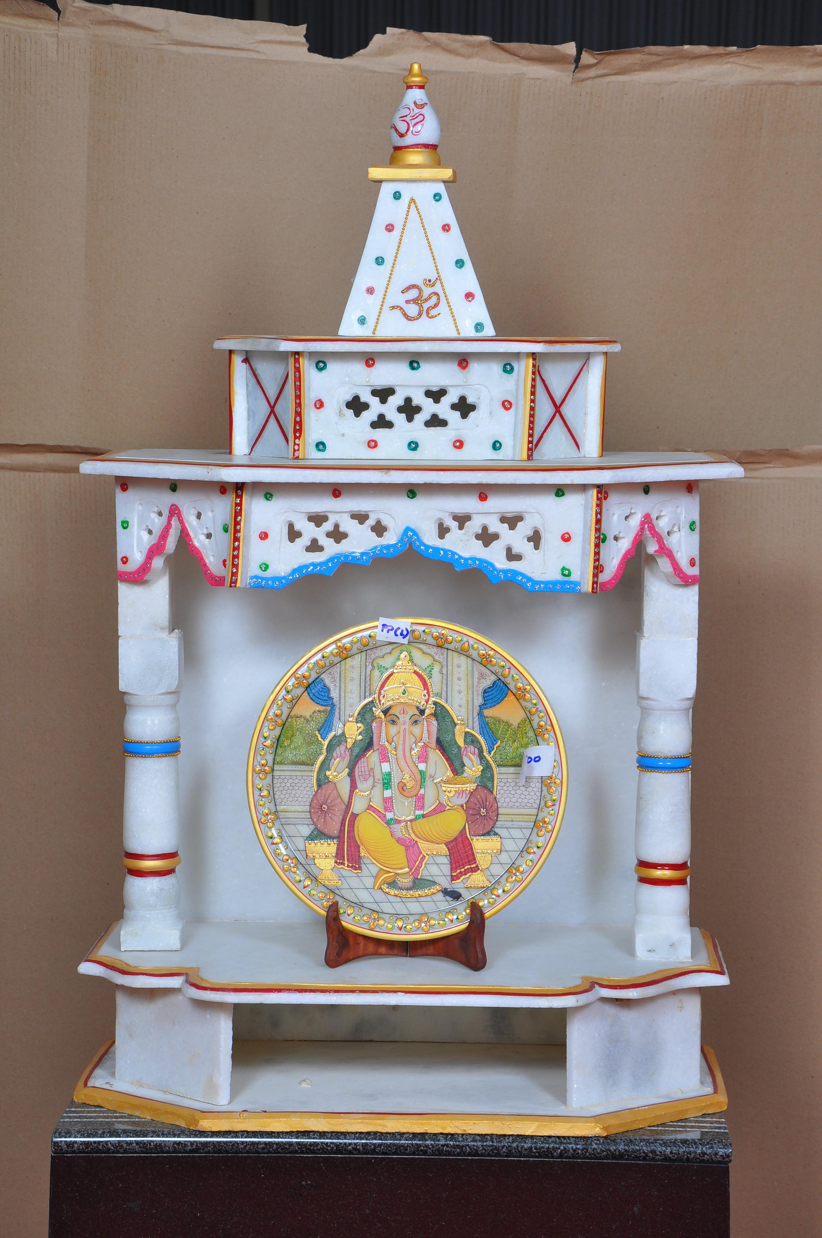 Marble Pooja Mandir Marble Pooja Mandapam A Stone Decor